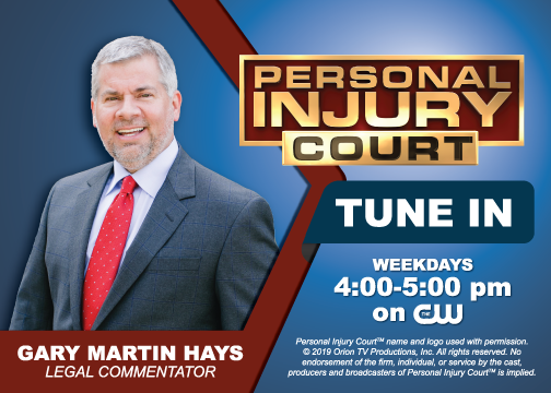 Gary Martin Hays on Personal Injury Court