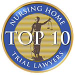 Nursing Home Trial Lawyers Top 10 badge