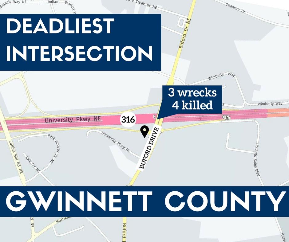 July 11 gwinnet county intersection