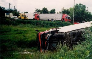 Truck accidents cause severe injuries