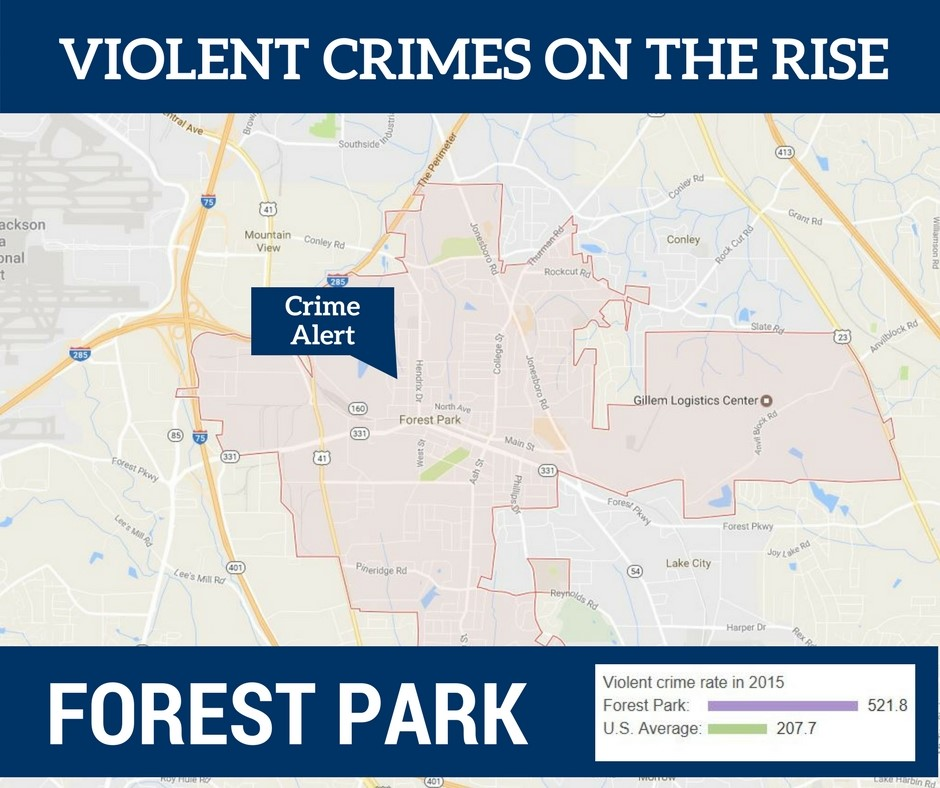 Violent Crimes On The Rise in Forest Park