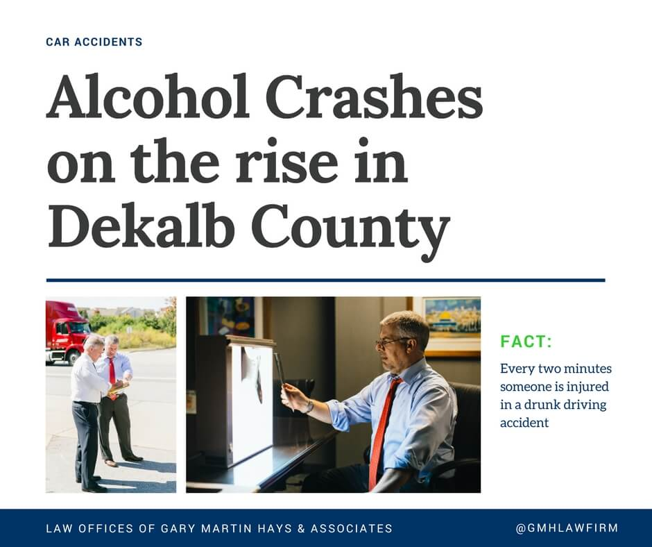 Alcohol crashes on the rise in DeKalb County