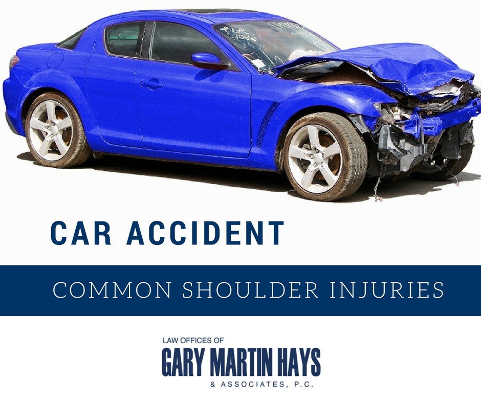 Car Accidents: Common Shoulder Injuries
