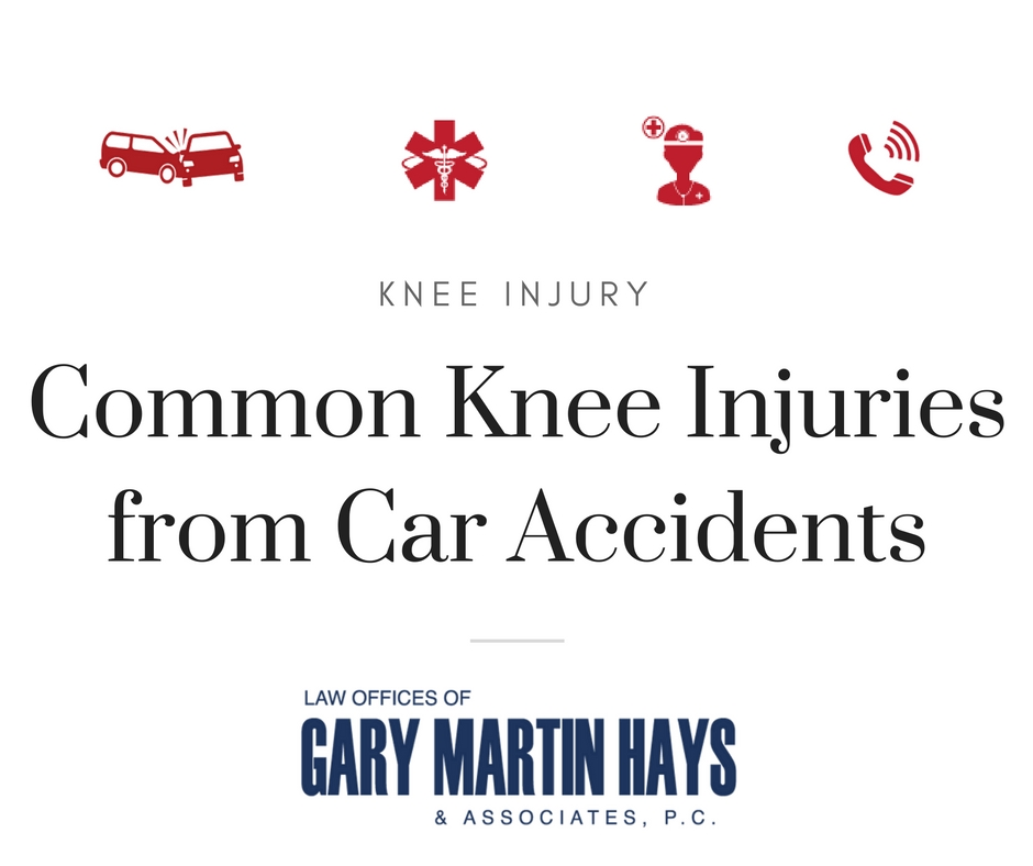 Common Knee Injuries from Car Accidents