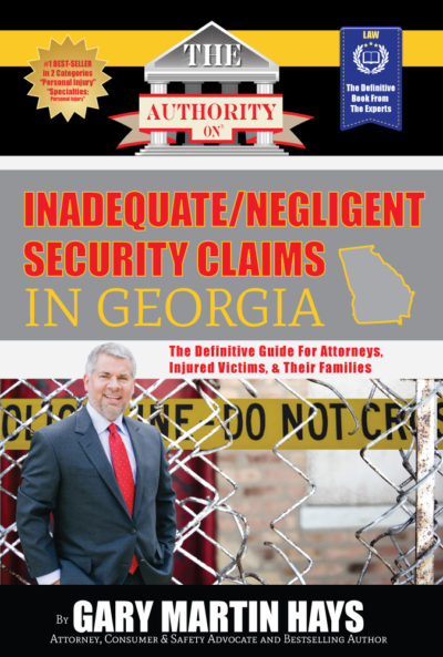 Inadequate/Negligent Security Claims cover