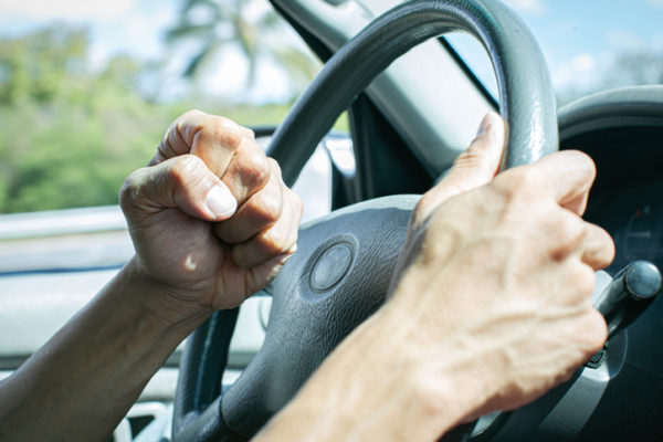Aggressive driving and road rage