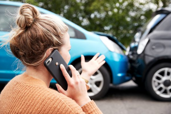 Damage and Injury in a car accident