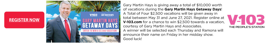 Vacation promotion banner
